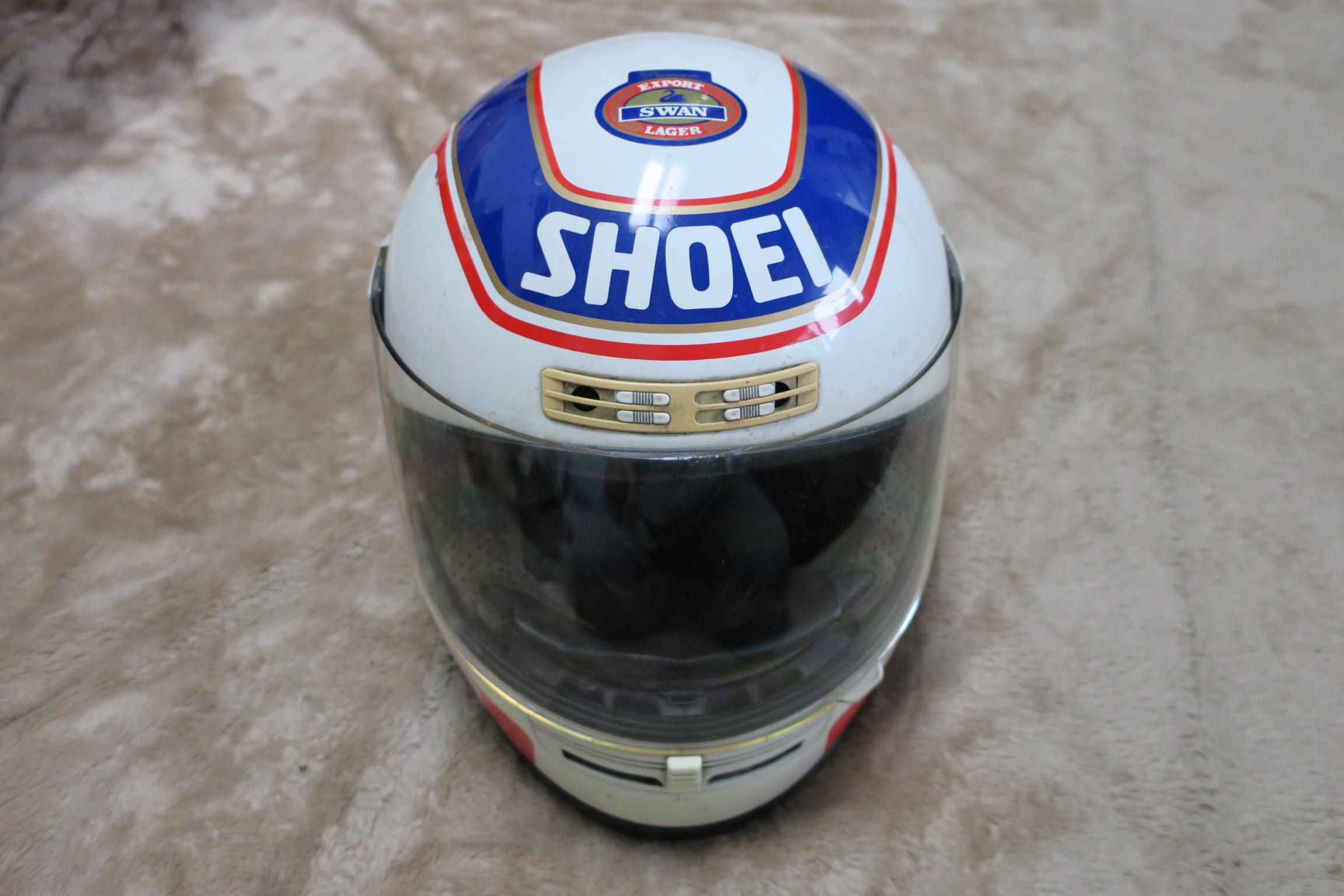 ワインガードナーのヘルメット