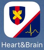 脳梗塞や不整脈の検出アプリHeart & Brain のアイコン