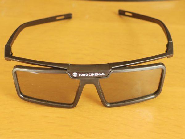 映画館の3Dメガネ