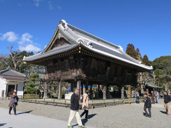 成田山新勝寺 額堂